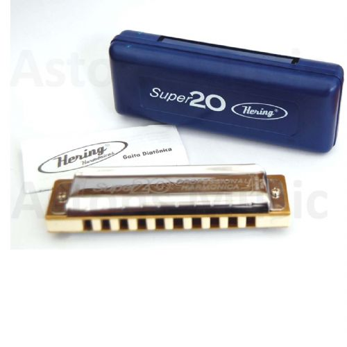 Hering Super 20 Harmonica Harp Mouth Organ Diatonic C New